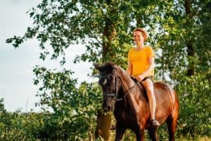How to Back a Horse for the First time?